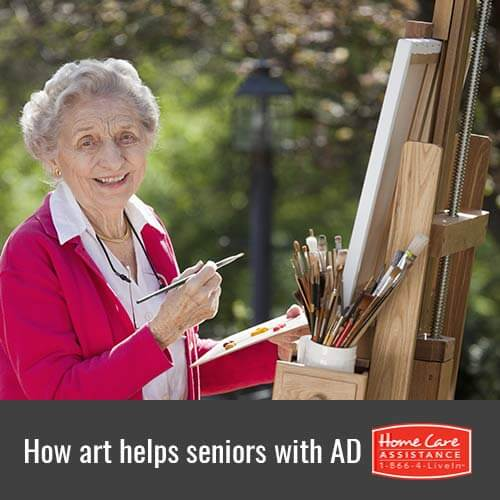 The Benefits of Art Therapy for Seniors with Alzheimer's in Mississauga, CAN