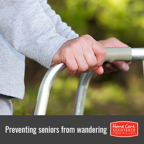 How to Prevent Seniors with Dementia from Wandering in Mississauga, CAN