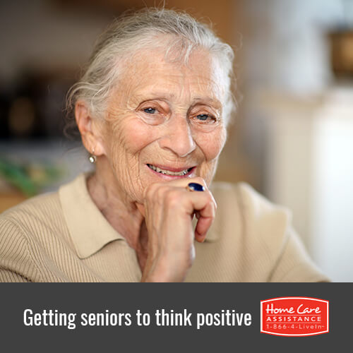 How to Get Your Senior Loved One to Think Positive in Mississauga, CAN