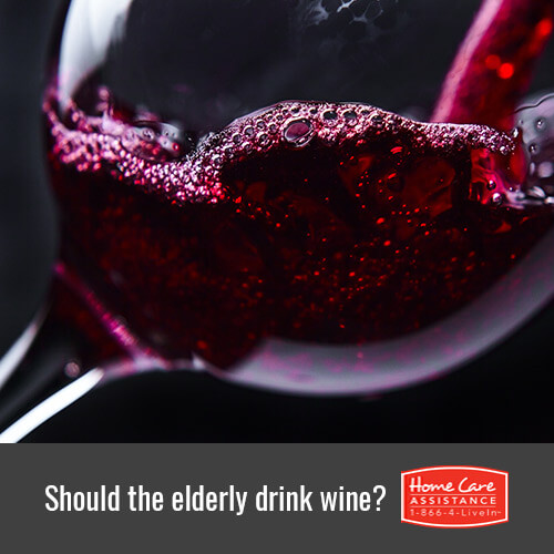 Should Mississauga, CAN Seniors Drink Wine?