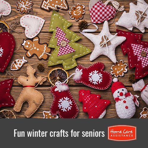 Winter-Themed Crafts for Seniors in Mississauga, ON, Canada